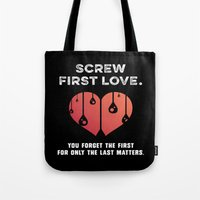 First Love [WHITE] Tote Bag