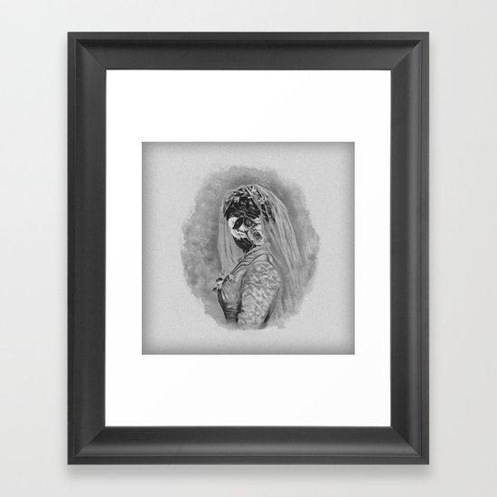 Bride I Framed Art Print