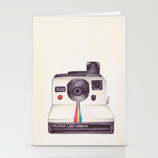 Ballpoint Pen Polaroid Stationery Cards