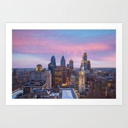 Philadelphia 01 - USA Art Print