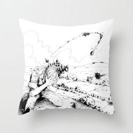 Desert #2 Throw Pillow