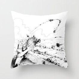 Desert #2 Throw Pillow
