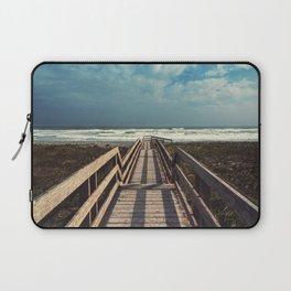 Beach Boardwalk Laptop Sleeve