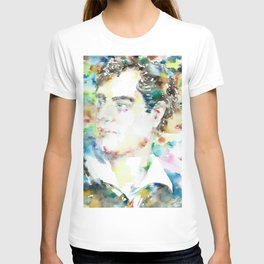 LORD BYRON - watercolor portrait T-shirt