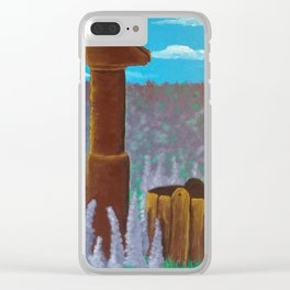 Water pump Clear iPhone Case
