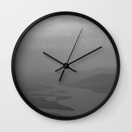 Black and white light and shadow VlI Wall Clock