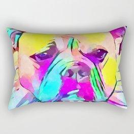 Bulldog 2 Rectangular Pillow
