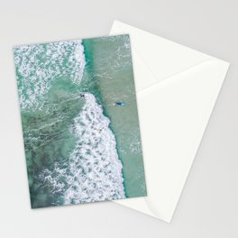 turquoise waters #society6 #decor #buyart Stationery Cards