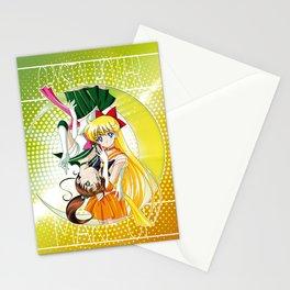 Sailor Moon Super S - Jupiter & Venus Crystal Power! Stationery Cards