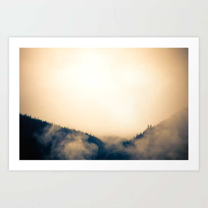 British Columbia Art Print