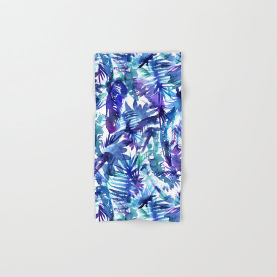 Vibe of the JUNGLE  {B-Blue} Hand & Bath Towel