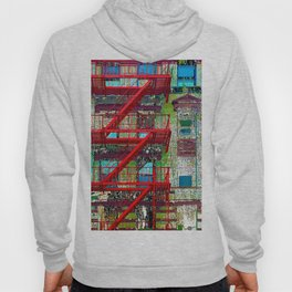 New York City Local Fire Escape Hoody