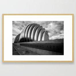 Kauffman Center Framed Art Print