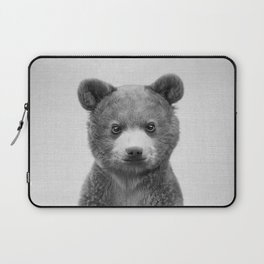 Baby Bear - Black & White Laptop Sleeve