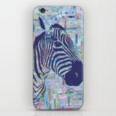 Zoe the Zebra iPhone & iPod Skin