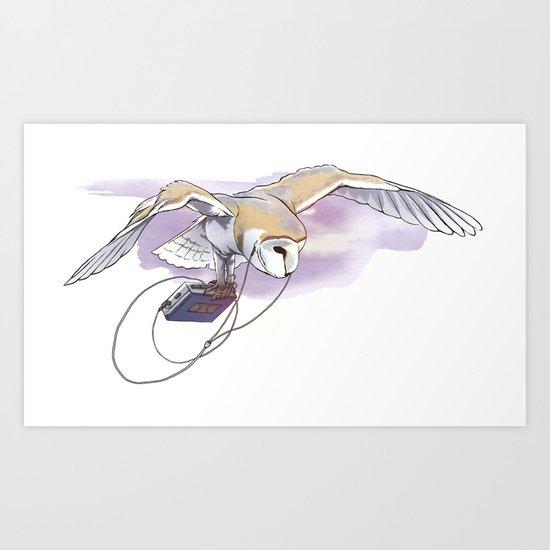 Special Ears Art Print
