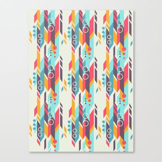Geometri pattern Canvas Print