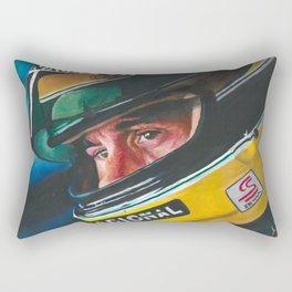 Ayrton Senna Rectangular Pillow