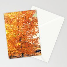 Shimmering Gold Stationery Cards
