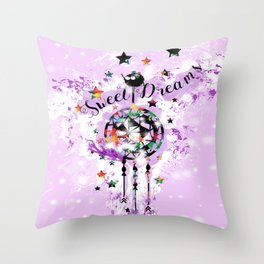 Sweet Dreams Dreamcather Throw Pillow