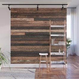 Vintage Wood Plank Wall Mural