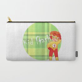 Chibi Kid Flash Carry-All Pouch