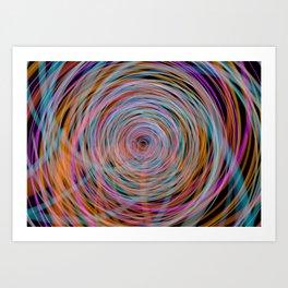 Down the Barrel  Art Print