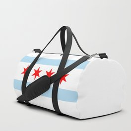 Chicago Flag Duffle Bag