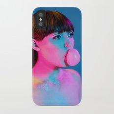 Bubblegum Yum Pop iPhone X Slim Case