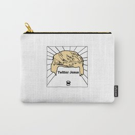 Twitter Jesus Carry-All Pouch