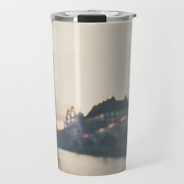 sunset over the city ... Travel Mug