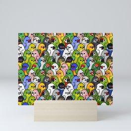 Too Many Birds!™ Bird Squad 2 Mini Art Print