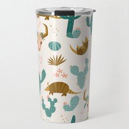Armadillos in the Desert Travel Mug