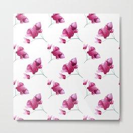 Pink spring flowers Metal Print
