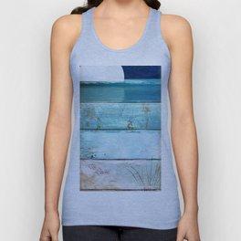 Beach Moonrise Unisex Tank Top