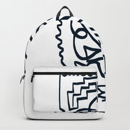 Abstract Geometry Backpack