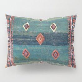 Sivas Antique Turkish Niche Kilim Print Pillow Sham