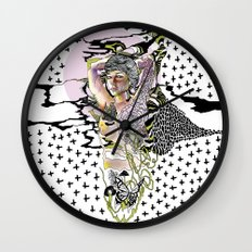Sweetly Lavender Wall Clock