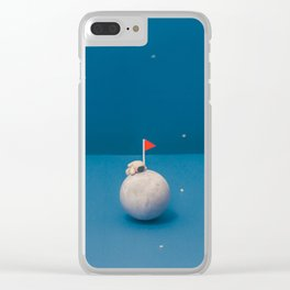Planet Climbing Clear iPhone Case