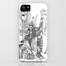 Shinobi Warrior iPhone Case