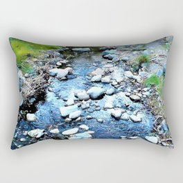 Stream at Dusk Rectangular Pillow