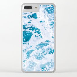 Perfect Ocean Sea Waves Clear iPhone Case
