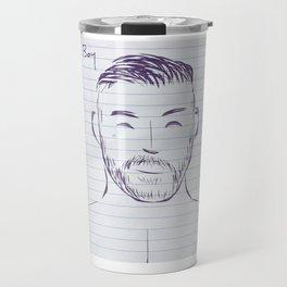Beard Boy Scruff 1 Travel Mug