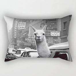 New York Llama Rectangular Pillow