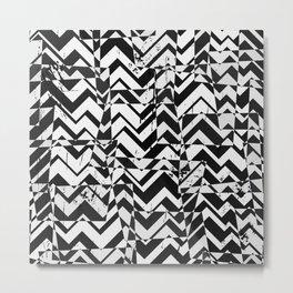 Abstract B&W Metal Print