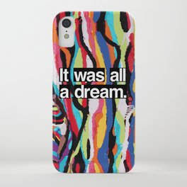 """It Was All A Dream"" Biggie Smalls Inspired Hip Hop Design iPhone Case"
