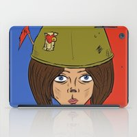 army iPad Cases featuring Army Girl by ConnorEden