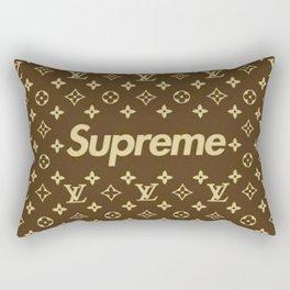 Supreme Lv Gold Rectangular Pillow