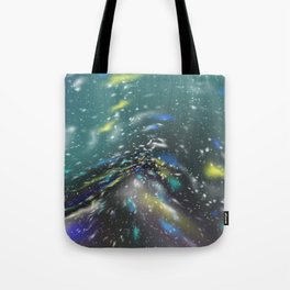 Deep Sea Space Tote Bag