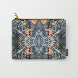Web of Blossoms Carry-All Pouch